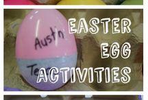 Easter homeschool