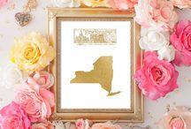 States Gold Foil USA