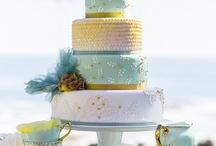 Un mariage entre la menthe et jaune