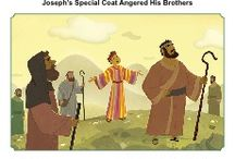 Joseph's Coat of Many Colors Bible Activities / Jacob showed his special love for his son Joseph by giving him a multi-colored coat. Joseph's brothers, not surprisingly, were angry and jealous. The Bible activities for children will help kids learn about this story and to avoid favoritism.