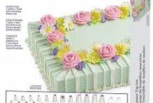 Cucina :Decor. torte panna