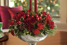 Christmas table center