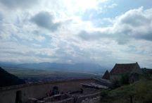 rasnov city wall