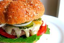Burgers and sandwiches / by Sherri Wells