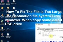 How To Fix The File is Too Large For The Destination file system Error I...