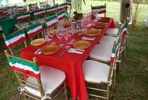 Decoracion para fiestas patrias