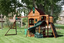 Kids play area (Outside)