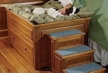 Dog beds houses etc
