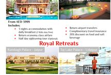 TREASURES OF INDIA / EXPERIENCE THE ROYALTY WITH TAJ HOTELS, PALACES AND RESORTS, INDIA