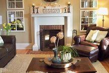 Livingroom Lounging...decor and ideas
