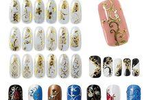 Дизайн ногтей / Рисунки на ногтях, 3D дизайн, наклейки на ногти