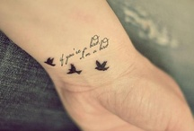 Tattoos..