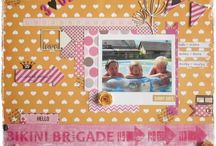 My Scrapbook  / You can find my scrapbooking projects here. Everything from my scrapbooking heart :-)...