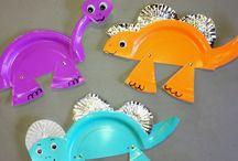 Roar, it's a dinosaur party!