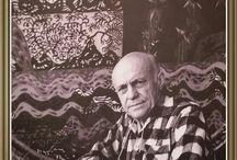 artiste peintre et autres mr. lurçat