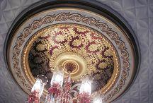 Delle dekor Saray tavan avize göbekleri