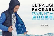 Packable UltraLight / Ready, Set, Pack & Go! You'll never have to think twice about Point Zero's Packable UltraLight jacket!  Created with newly improved packable features, it packs right into a travel pillow!   Available for Men and Women, Point Zero's Packable UltraLight jacket is perfect for wherever life takes you! www.pointzero.ca / by Point Zero