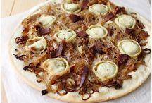 pizza ou tarte salée