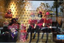 Store windows La MERCERIA INV 2014 BS AS / VIDRIERAS ACCESORIOS Y ROPA DE MUJER