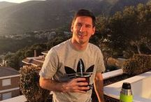 Messi & Mate / Did you know that Messi drinks mate? Yes and that's why he is the best! :)