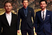 "The Three "" Richard Armitage, Dean O'Gorman And Aidan Turner"" <3 <3 <3"