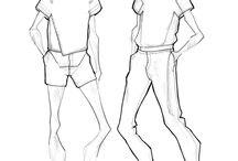 тех рисунок / как рисовать одежду правильно; создание технического (тех) рисунка
