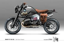 BMW GS Scrambler