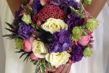 Букет невесты / Роскошный букет невесты ,пурпурный и фуксия очень хорошо сочетаются