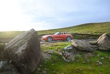 BMW Z4 / Driving a cabrio in the mountains is a beautiful experience.