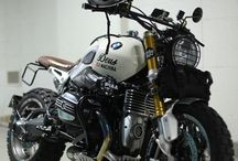 Motocykle, samochody