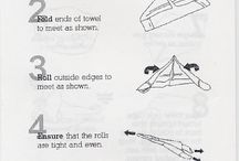 Handtuch falten