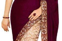 Beautiful Sarees / Beautiful Sarees and Bollywood actress designs