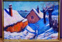 téli házi tetők
