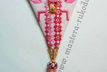 Scissors pattern hardanger n patch