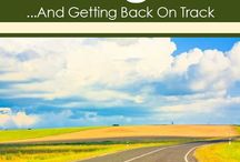 get back on track 6:) / by Raycelle Hicks