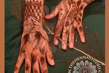 Eid Henna / These henna designs were done during Eid, but can be used at any time