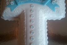 christening cake - vicky
