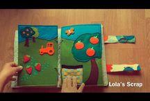 Costura / Libro sensorial