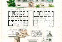 plan maison historique