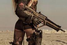 Dangerous Women / Beautiful Girls & Weapons