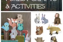 Woodland Creature Crafts