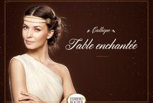 Muse Calliope / Du chemin de table, aux ornements des assiettes, la Muse Calliope n'oubliera aucun détail festif.