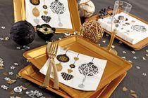 Noël doré et cuivré Mesa Bella / Découvrez les produits couleur or et cuivre de Mesa Bella pour Noël 2014