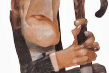 Pablo Temes / Caricatures caricaturas dibujos
