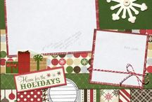 fall & Christmas layouts / by Elaine Davis