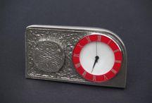 Pewter Clocks by Stoneysbadges.co.uk