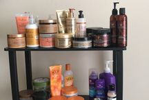 Curly girl products