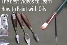 How to paint with oils