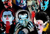 "Horror / Movies, Vintage Films.. / by Drew ""King Bones"" Jorgensen"