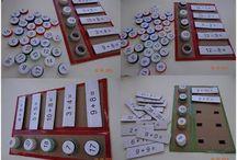 Matemáticas / Actividades y juegos para que los peques aprendan matemáticas.